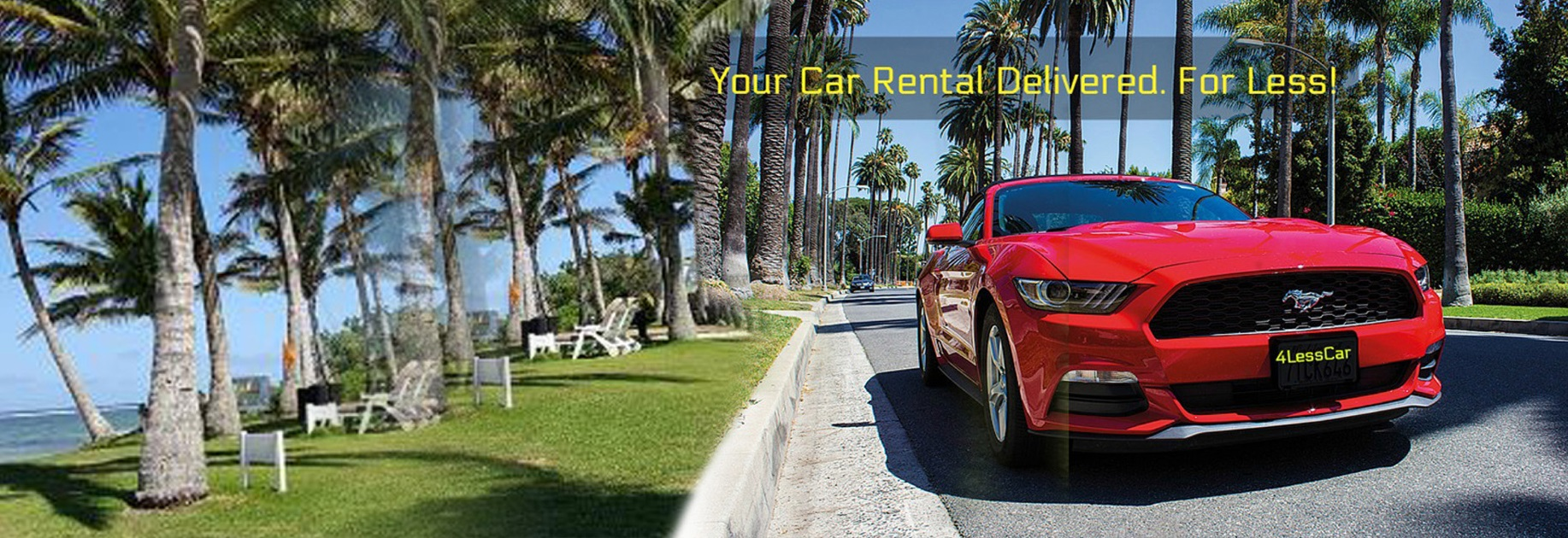 Your car rental delivered for less!